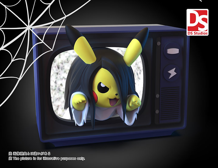 【DS STUDIO】 Sadako Pikachu