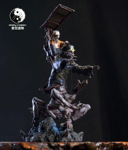 NIHILITY CREATION - Taoist and Zombie Original Statue