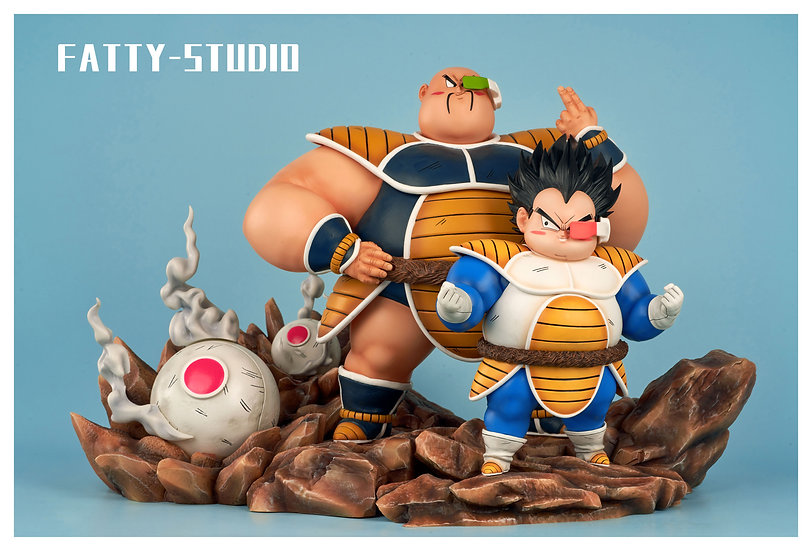【FATTY STUDIO】 - Vegeta and Nappa