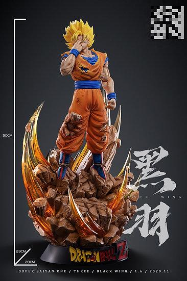 【BLACK WING STUDIO】 - Super Saiyan Goku Instant Transmission