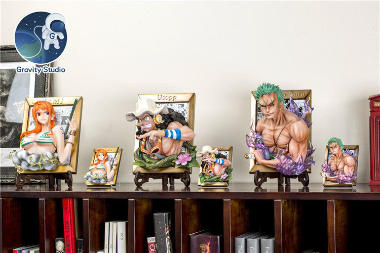 【GRAVITY STUDIO】- Zoro, Nami and Usopp