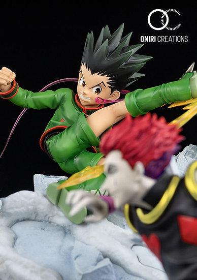 ONIRI CREATIONS - Gon vs Hisoka: Battle at the heavens arena 1/6 diorama statue