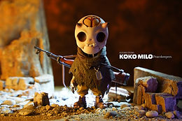 AUGONE STUDIO - KoKo Milo Peacekeepers Original Statue