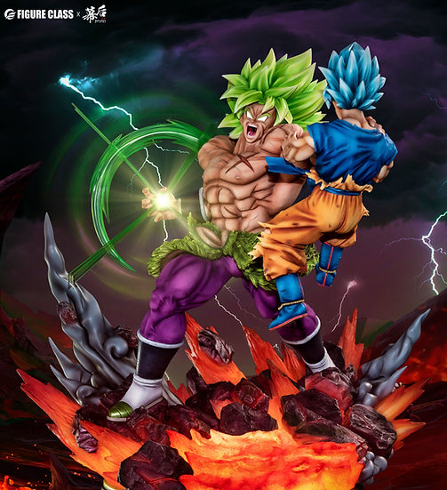 【MH STUDIO x FIGURE CLASS】 Broly vs Goku