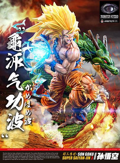 【MONSTER STUDIO】 SSJ3 Goku