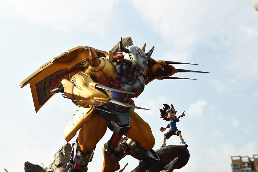 【SECOND DIMENSION】 Taichi and Wargreymon