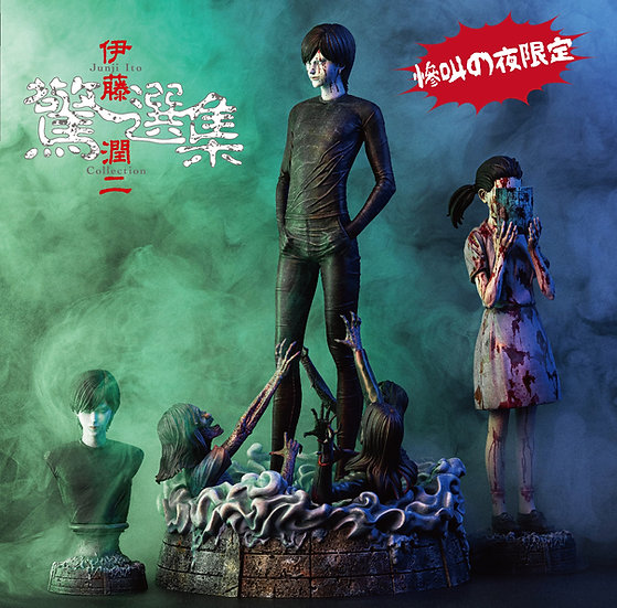 ECHOEW GALLERY - Junji Ito Horror Collection 1/6 Scale Statue  | Lovesickness
