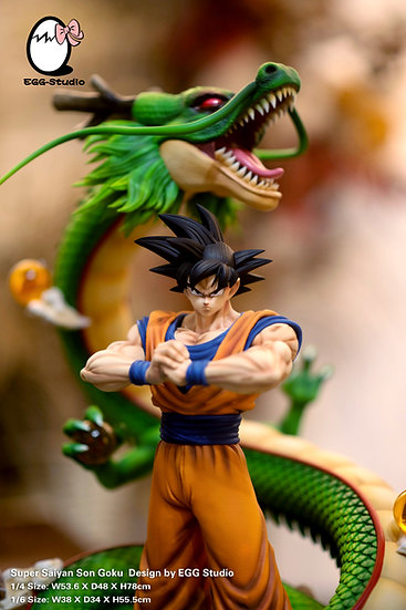 【EGG STUDIO】 Goku and Shenron
