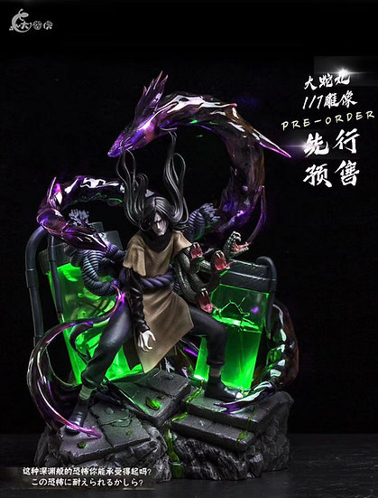 【BIG GECKO STUDIO】Orochimaru's Base