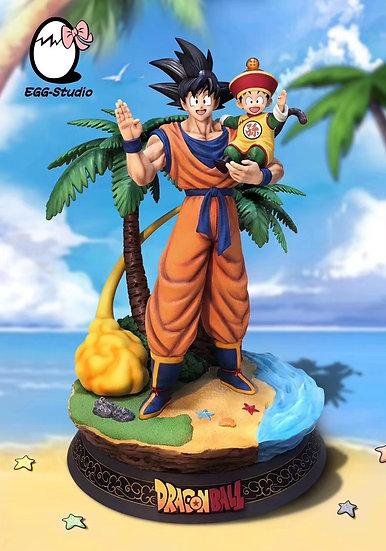 【EGG STUDIO】 Goku and Gohan