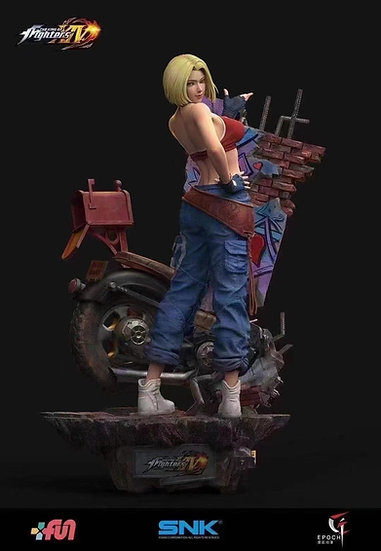 EPOCH STUDIO - Blue Mary 1/4 Licensed Statue   SNK The King of Fighters XIV