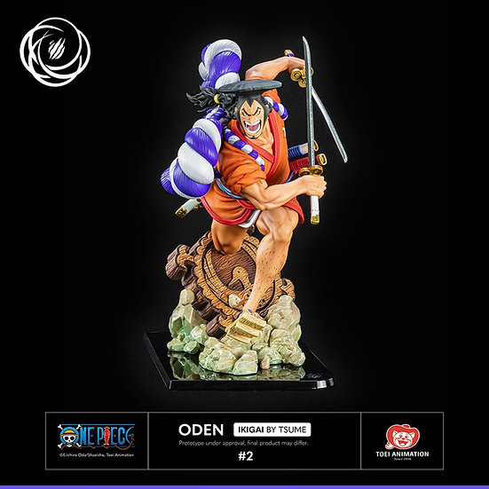 TSUME ART - Kozuki Oden 1/6 Licensed Statue | One Piece Wano Country