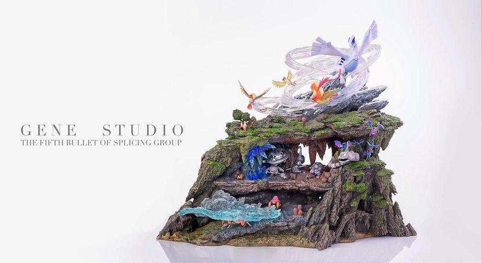 【GENE STUDIO】 Pokemons in Mountain