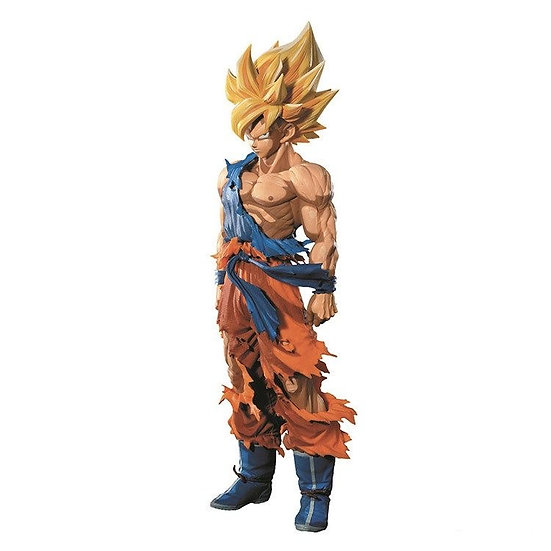 BANPRESTO - Dragon Ball Z SMSP Manga Dimensions Super Saiyan Goku