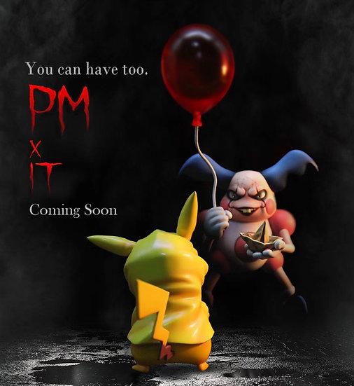 【CRESCENT STUDIO】Mr.Mime Kidnap Pikachu