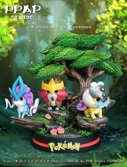 【PPAP STUDIO】 - Q Version Three Legendary Beasts