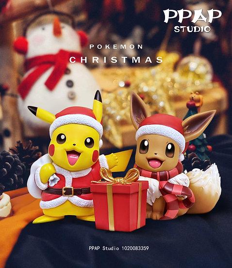 【PPAP STUDIO】 - Christmas Pikachu and Eevee