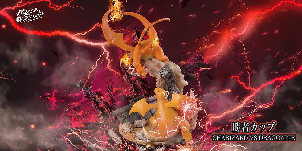 【MECCA STUDIO】 - Charlizard vs Dragonite