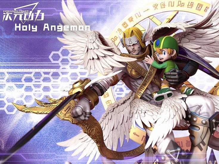 【DIMENSION POWER】 -  Takaishi Takeru and HolyAngemon