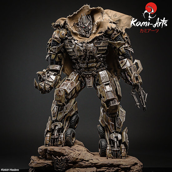 KAMI ARTS - Megatron Licensed Statue | Transformers
