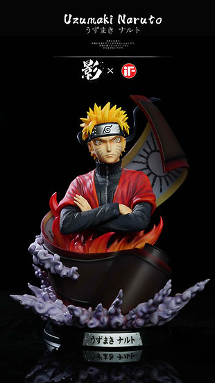 【IF STUDIO】 Uzumaki Naruto Bust