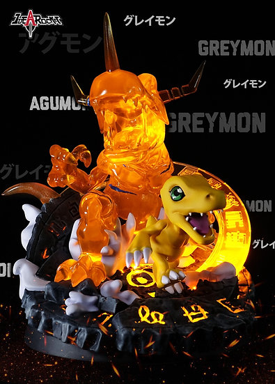 【IDEA ROCKET STUDIO】 - Agumon Evolution