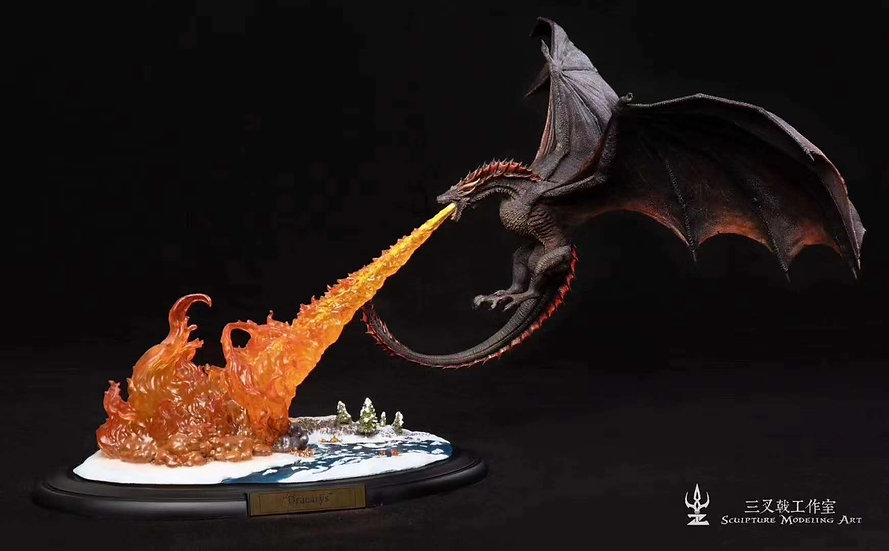 【SCULPTING MODELING ART】 Dracarys Flame