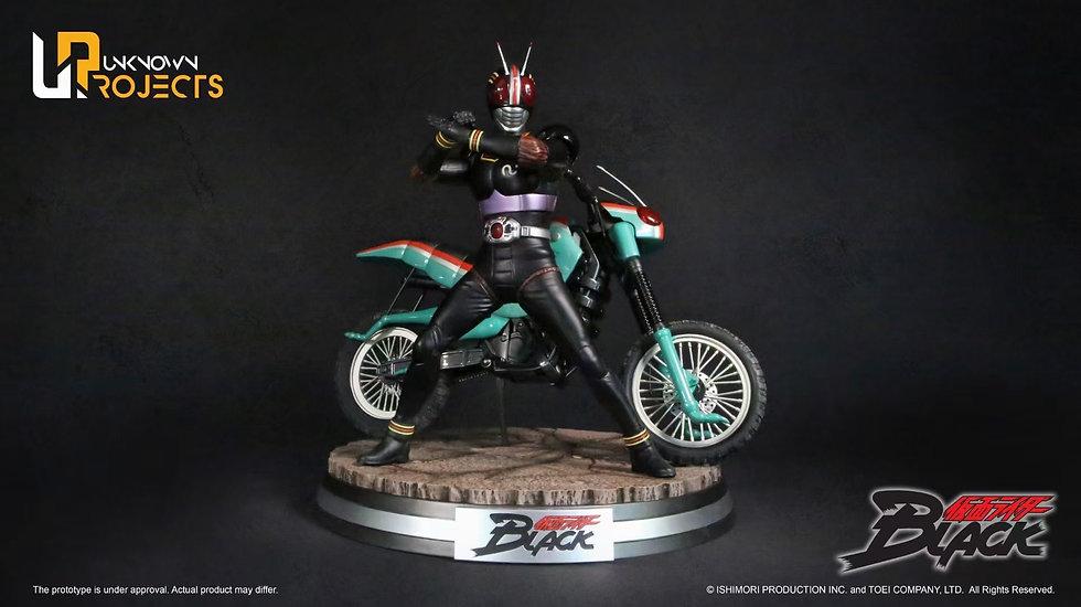 UNKNOWN PROJECTS - Kamen Rider Black 1/4 Licensed Statue  | Kamen Rider Black