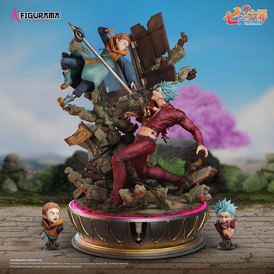 FIGURAMA - Ban vs King 1/6 Scale Statue | Seven Deadly Sins
