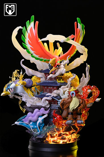【MFC STUDIO】 - Ho-Oh and 3 Legendary Beasts