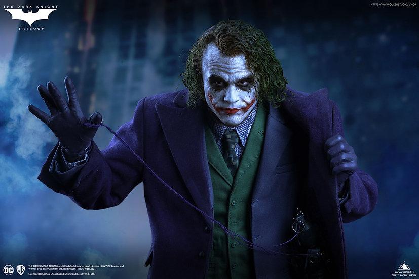 QUEEN STUDIOS - Heath Ledger Joker 1/4 Statue | The Dark Knight  (REGULAR)