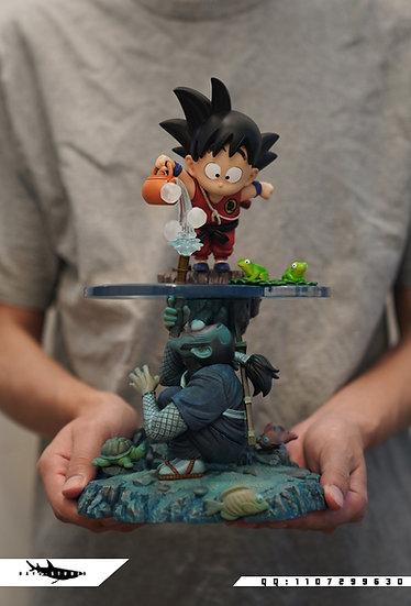 【FATTBOY x DAYU STUDIO】 Kid Goku and Ninja