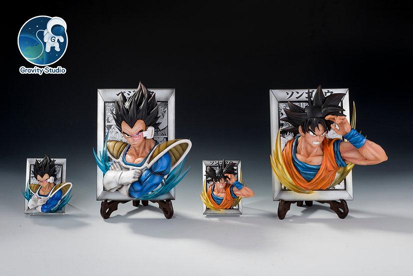 【GRAVITY STUDIO】 Goku and Vegeta