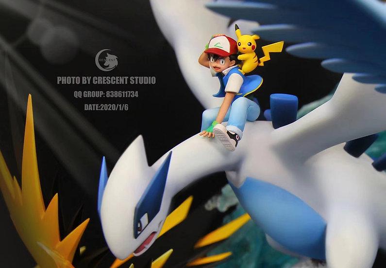 【CRESCENT STUDIO】Pokemon Lugia and Three Legendary Birds