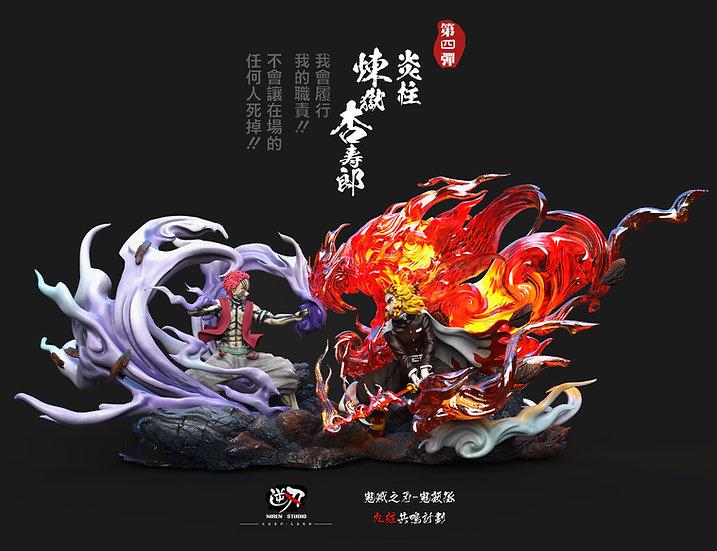 【NIREN STUDIO】 -  Rengoku Kyojuro vs Akaza