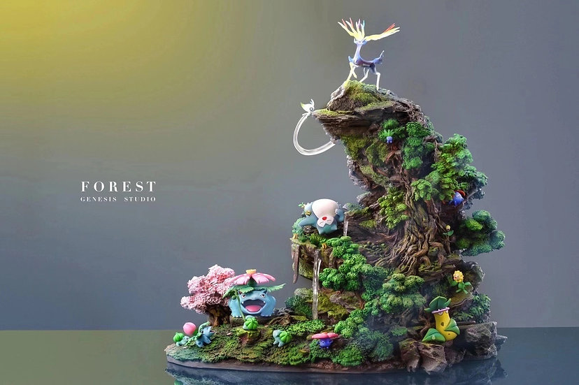 【GENESIS STUDIO】 - Forest Theme Pokemon