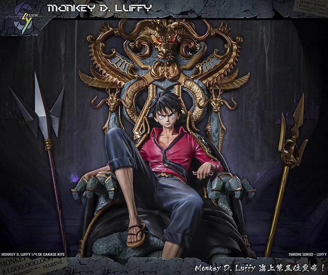 【SKYLINE STUDIO】 Luffy on throne