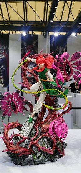 IRON KITE STUDIO - Yu Yu Hakusho Kurama 1/4 Licensed Statue