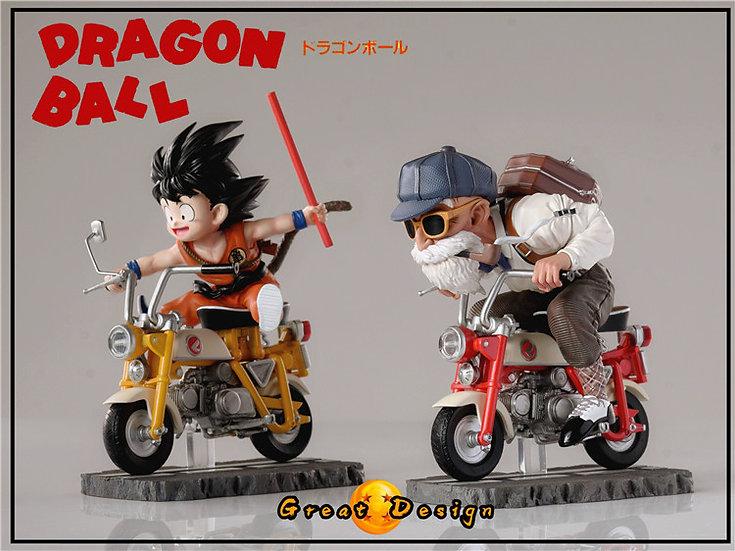【GREAT DESIGN STUDIO】  Master Roshi and Kid Goku