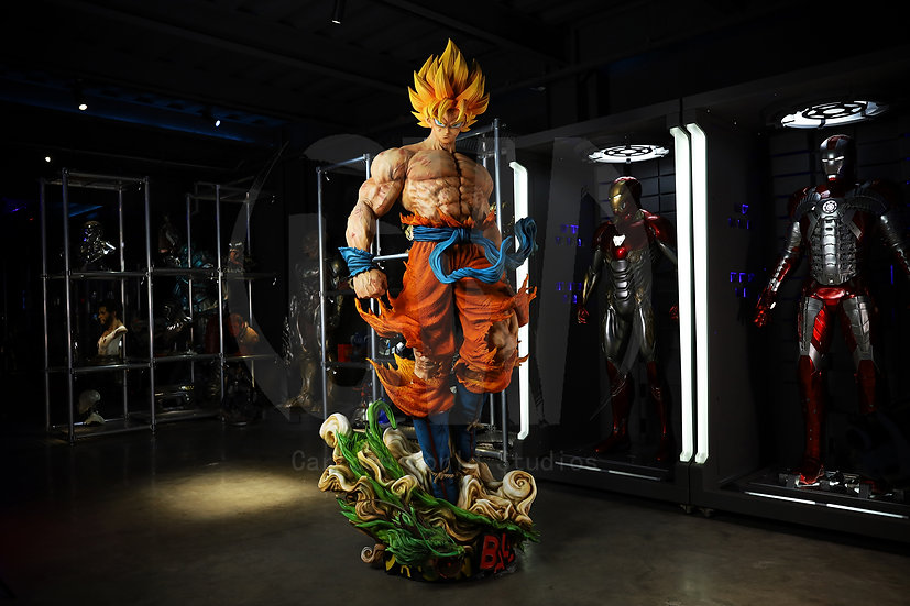 【CW STUDIO】  Life Size Goku