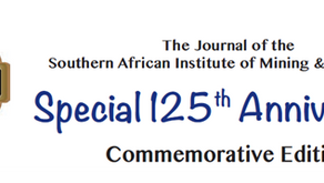 Final Chance to show your congratulations to the SAIMM on their 125 Anniversary