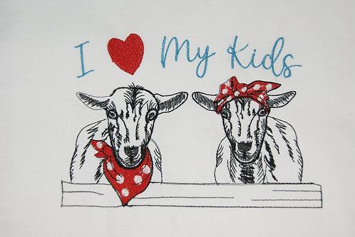 Goats I Heart (Love) My Kids