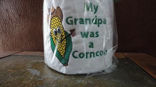 Grandpa was a Corn Cob