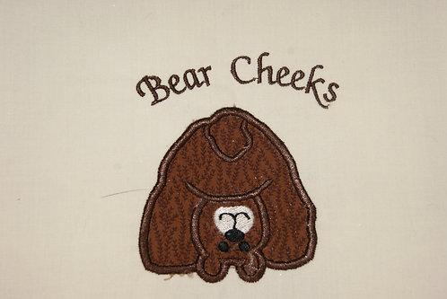 Bear Cheeks Applique
