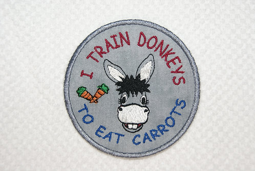 Donkey Carrot Train Patch