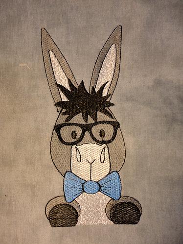 Donkey w/Glasses Cute Boy