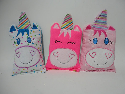 Unicorn Rice Bag or Cover Aromatherapy Heat/Cold Pack Boo Boo