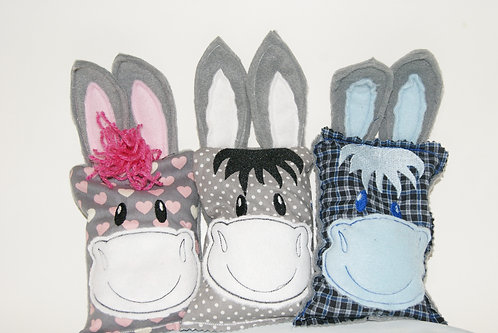 Donkey Rice Bag Cover or Aromatherapy Rice Bag 5x7 Boo Boo