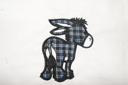 Donkey Applique