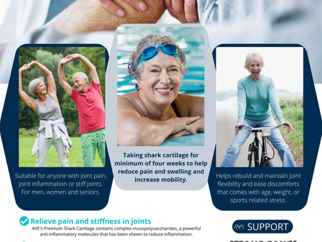 How Shark Cartilage can help you enjoy your life?